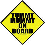 Yummy Mummy - Sticker